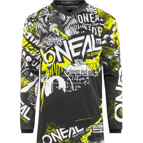 O'Neal Element Maillot Hombre, attack (black/hi-viz)